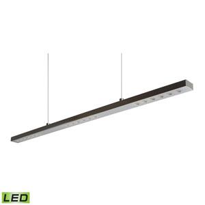 Wand Chrome LED Pendant 18-Watt