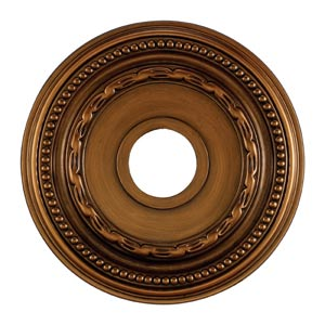 Campione Antique Bronze 16-Inch Ceiling Medallion