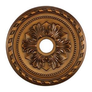Corinthian Antique Bronze 22-Inch Ceiling Medallion
