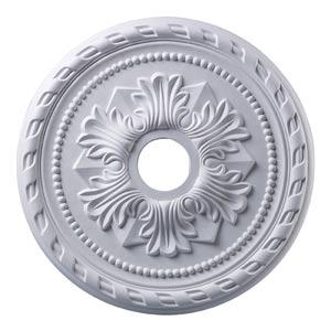 Corinthian White 22-Inch Ceiling Medallion