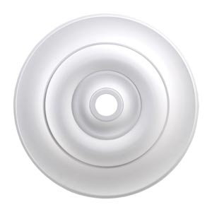 Apollo White 32-Inch Ceiling Medallion
