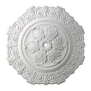 Marietta White 33-Inch Ceiling Medallion