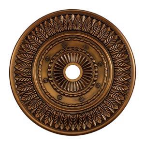 Corinna Antique Bronze 33-Inch Ceiling Medallion
