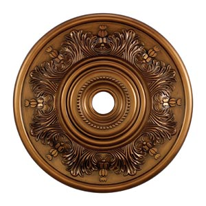 Laureldale Antique Bronze 30-Inch Ceiling Medallion