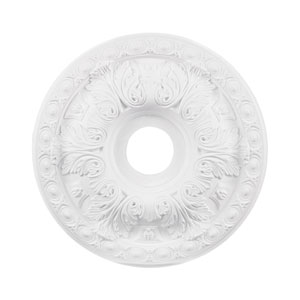 Pennington White 18-Inch Ceiling Medallion