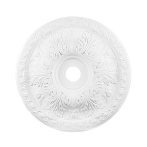 Pennington White 28-Inch Ceiling Medallion