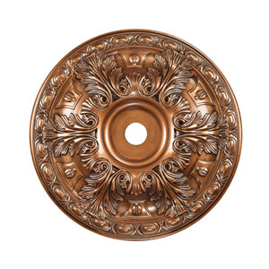 Pennington Antique Bronze 36-Inch Ceiling Medallion
