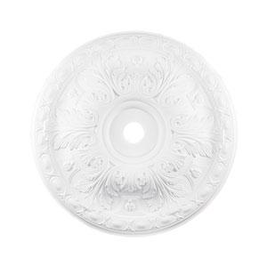 Pennington White 36-Inch Ceiling Medallion