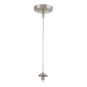 Low Voltage Brushed Nickel 3-Inch One Light Mini Pendant