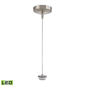 Low Voltage Brushed Nickel 3-Inch LED One Light Mini Pendant