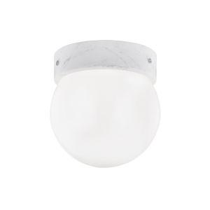 Bianco Polished Nickel One-Light Flush Mount