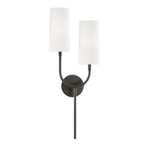 Vesper Old Bronze Two-Light Wall Sconce