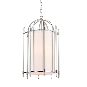 Delancey Polished Nickel Four-Light Pendant
