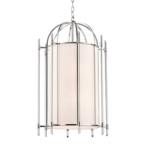 Delancey Polished Nickel Eight-Light Pendant