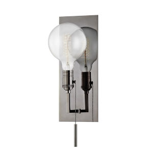 Kramer Black Nickel One-Light Wall Sconce