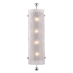 Broome Polished Nickel Four-Light Wall Sconce