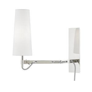 Lanyard Polished Nickel LED Wall Sconce