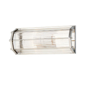 Wembley Polished Nickel Two-Light ADA Wall Sconce