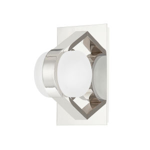 Orbit Polished Nickel One-Light Wall Sconce