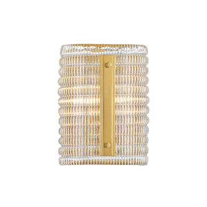 Athens Aged Brass Two-Light Wall Sconce