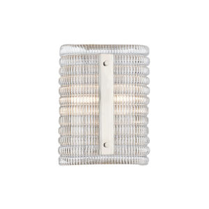 Athens Polished Nickel Two-Light Wall Sconce