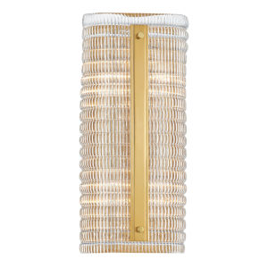 Athens Aged Brass Four-Light Wall Sconce