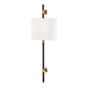 Bowery Aged Old Bronze Two-Light ADA Wall Sconce