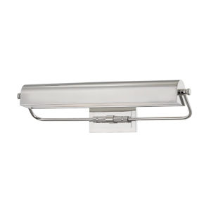 Bowery Polished Nickel Two-Light Picture Light