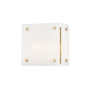 Paladino Aged Brass Two-Light LED Wall Sconce