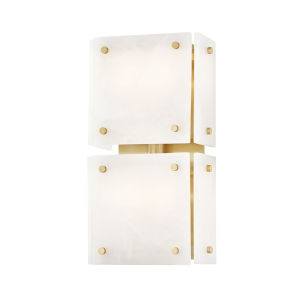 Paladino Aged Brass Four-Light LED Wall Sconce