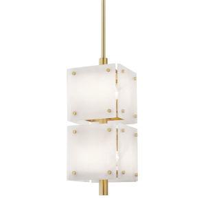 Paladino Aged Brass 11-Inch Eight-Light LED Pendant