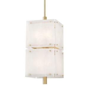 Paladino Aged Brass 16-Inch Eight-Light LED Pendant