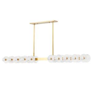 Austen Aged Brass 20-Light Pendant