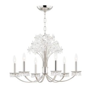 Beaumont Polished Nickel Six-Light Pendant