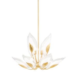 Blossom Gold 10-Light Chandelier