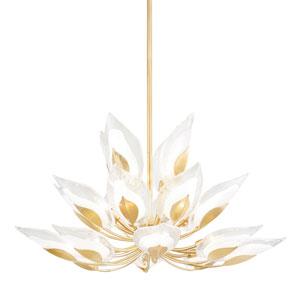 Blossom Gold 20-Light Chandelier