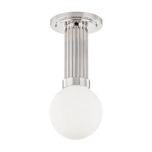Reade Polished Nickel LED Flush Mount