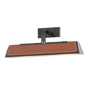 Holtsville Old Bronze/Saddle 18-Inch Two-Light LED Wall Sconce