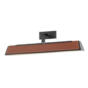 Holtsville Old Bronze/Saddle 24-Inch Two-Light LED Wall Sconce