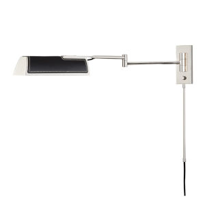 Holtsville Burnished Nickel/Black 5-Inch LED Wall Sconce