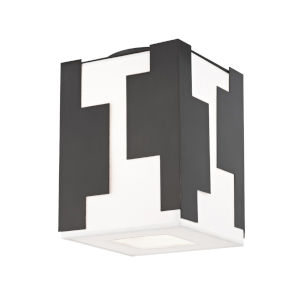 Acadia Old Bronze LED Flush Mount