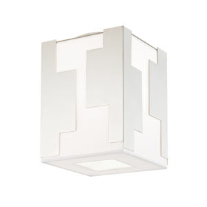 Acadia Polished Nickel LED Flush Mount