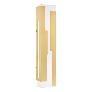 Acadia Aged Brass LED ADA Wall Sconce