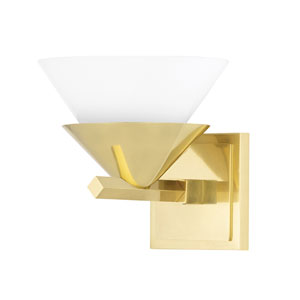 Stillwell Aged Brass One-Light Wall Sconce
