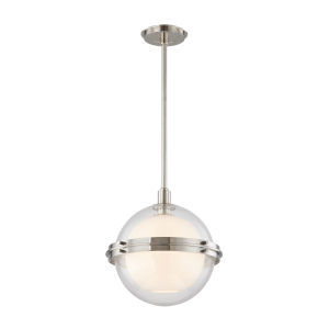 Northport Polished Nickel 14-Inch One-Light Pendant