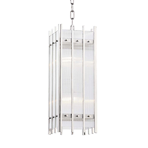 Wooster Polished Nickel Four-Light Pendant