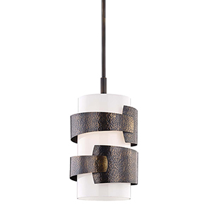 Lanford Distressed Bronze One-Light Pendant