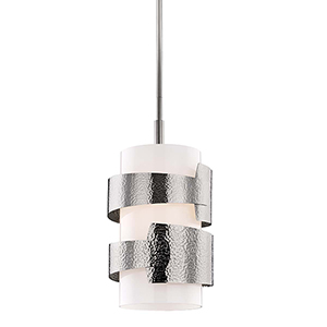 Lanford Polished Nickel One-Light Pendant