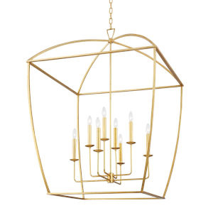 Bryant Gold Eight-Light Extra Pendant