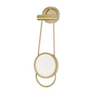 Valeri Aged Brass LED ADA Wall Sconce